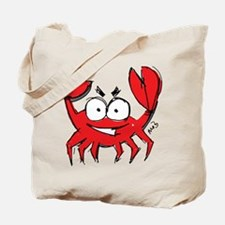 Dont Be Crabby Tote Bag
