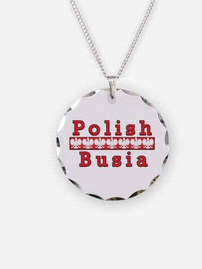 Polish Busia Eagles Necklace