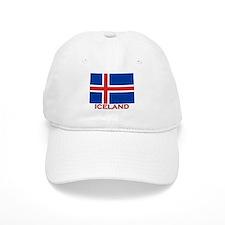 Iceland Flag Stuff Baseball Cap