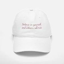 Believe in Yourself V1 Baseball Baseball Cap