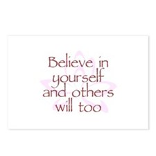 Believe in Yourself V1 Postcards (Package of 8)
