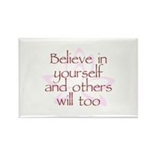 Believe in Yourself V1 Rectangle Magnet
