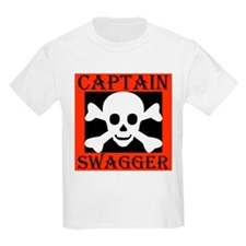 Captain Swagger Kids T-Shirt