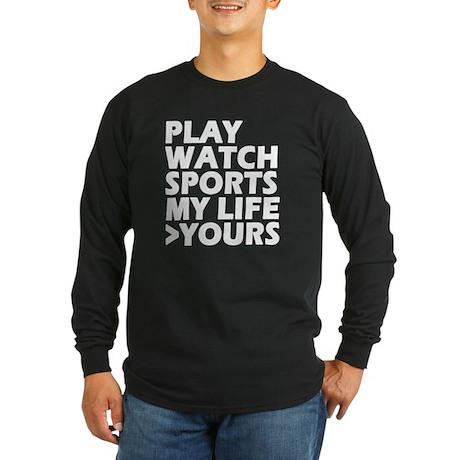 Sports>You Long Sleeve Dark T-Shirt