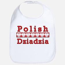 Polish Dziadzia Eagles Bib