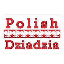 Polish Dziadzia Eagles Postcards (Package of 8)