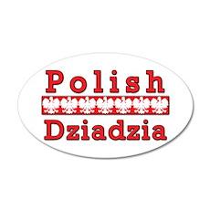 Polish Dziadzia Eagles Wall Decal