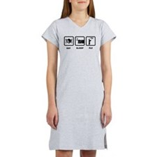 RC Helicopter Women's Nightshirt