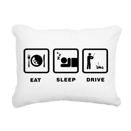 RC Car Rectangular Canvas Pillow