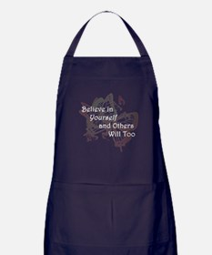 Believe in Yourself Apron (dark)