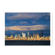 Seattle Cityscape Postcards (Package of 8)