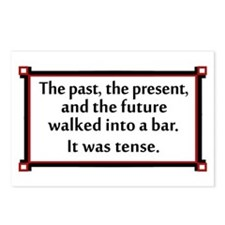 The past, the present, and the future... Postcards