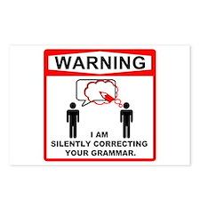 Warning: I am silently correcting your grammar. Po