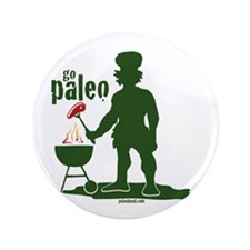 """Paleo BBQ 3.5"""" Button"""