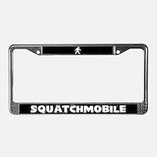 Squatchmobile (Sasquatch) License Plate Frame