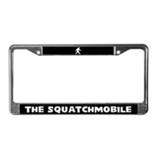 The Squatchmobile License Plate Frame