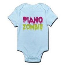Piano Zombie Infant Bodysuit