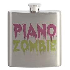 Piano Zombie Flask