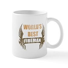 World's Best Fireman (Wings) Mug