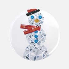 """Snow-BLING-man 3.5"""" Button (100 pack)"""
