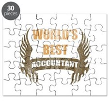World's Best Accountant (Wings) Puzzle