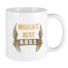 World's Best Boss (Wings) Mug