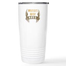 World's Best Boss (Wings) Travel Mug