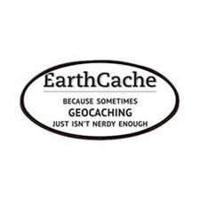 Earthcache - geocaching isn't nerdy enough Patches