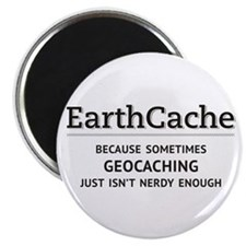 Earthcache - geocaching isn't nerdy enough Magnet