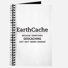 Earthcache - geocaching isn't nerdy enough Journal