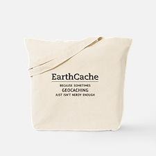 Earthcache - geocaching isn't nerdy enough Tote Ba