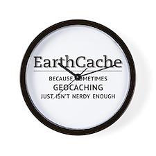Earthcache - geocaching isn't nerdy enough Wall Cl