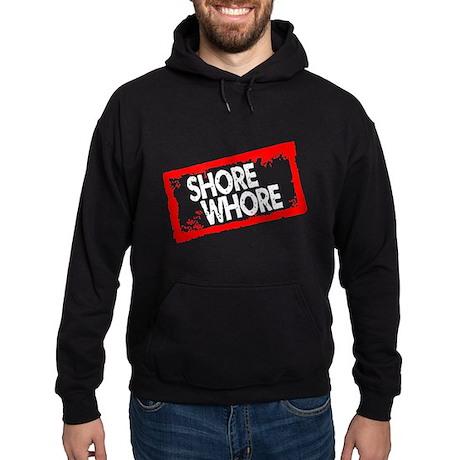 Shore Whore Hoodie (dark)
