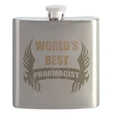 World's Best Pharmacist (Wings) Flask