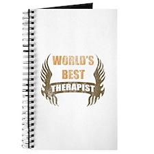 World's Best Therapist (Wings) Journal