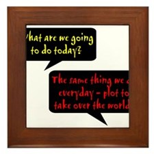 What are we going to do today? Framed Tile