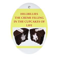 HILLBILLIES Ornament (Oval)