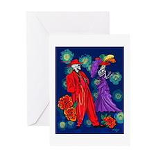 Zoot por Muertos Greeting Card