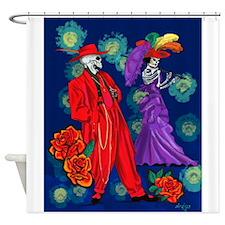 Zoot por Muertos Shower Curtain