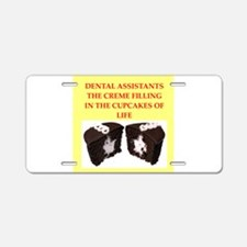 dental Aluminum License Plate