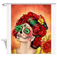 Muertos Amor Shower Curtain