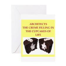 architect Greeting Card