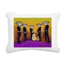 Mariachi Dia de los Muertos Band Rectangular Canva