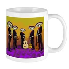 Mariachi Dia de los Muertos Band Mug