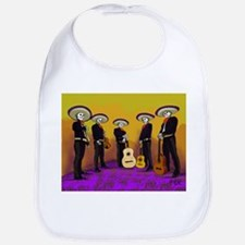Mariachi Dia de los Muertos Band Bib