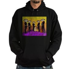 Mariachi Dia de los Muertos Band Hoody