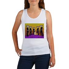 Mariachi Dia de los Muertos Band Women's Tank Top