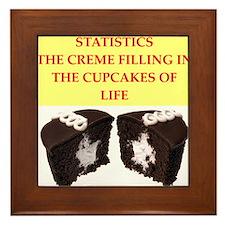 statistics Framed Tile