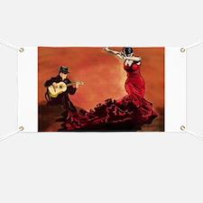 Flamenco Dancer and Guitarist Banner