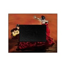 Flamenco Dancer and Guitarist Picture Frame